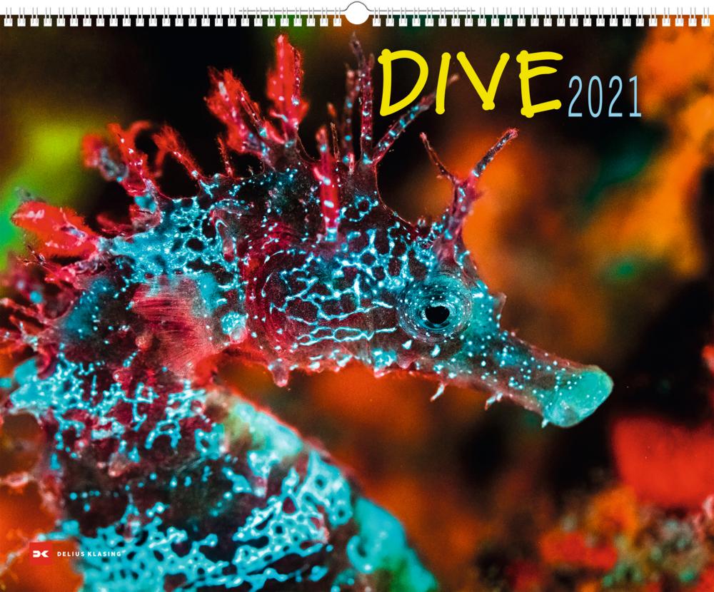 DIVE 2021  - Großformatiger Wandkalender